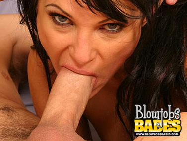 Victoria Takes a Huge Dick Orally