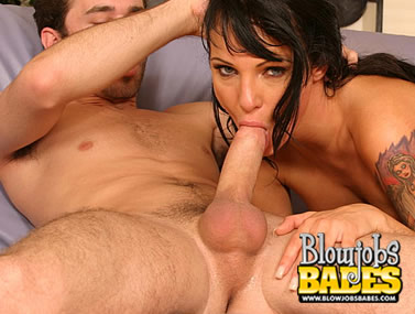 Victoria Sin Gets Her Mouth Full
