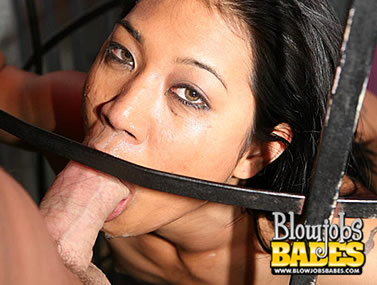 Exotic Asian Lyla Lei Smoking a Cock