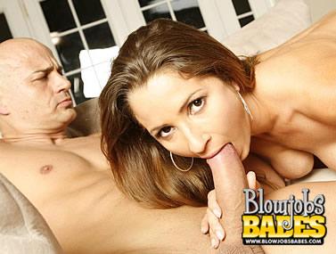 Nasty Latina Sucking a Meat Cock