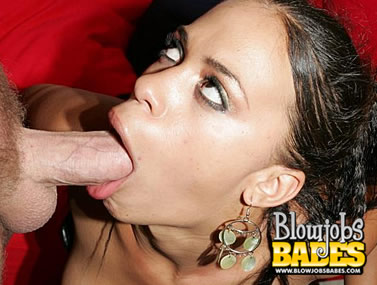 Chyanne Jacobs Deep-Throating a Dick